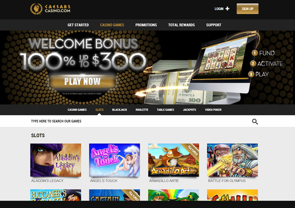 caesars online casino gambling casino games