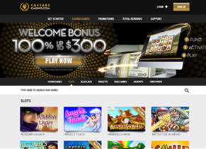 caesars online casino nj review