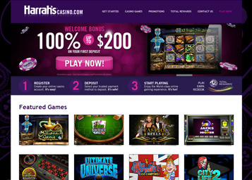 harrahs online casino review