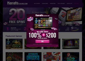 Harrah's Casino - Home Page