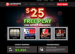 Ultimate Casino - Home Page