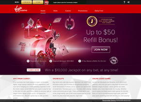 Virgin Casino - Home Page