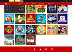Virgin Casino - Slot Games